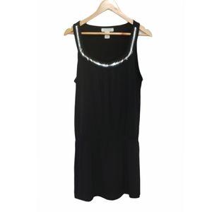 WHBM Cinched Sleeveless Dress